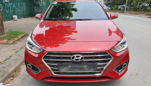 Bán Hyundai Accent 1.4AT năm sản xuất 2018, màu đỏ