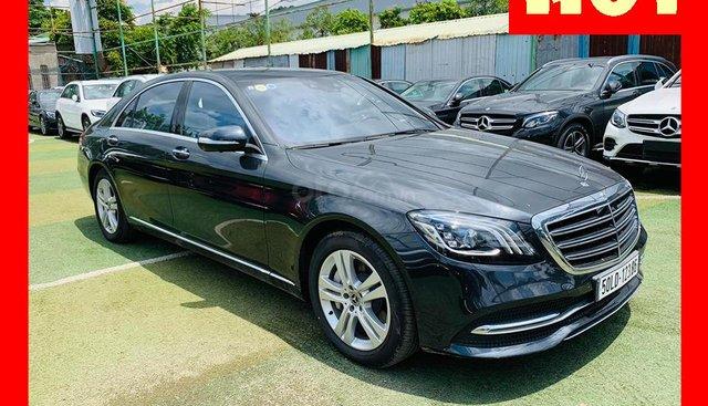 Bán xe Mercedes S450 đen 2018, chính hãng xe mới giá xe cũ, trả trước 1 tỷ 700 nhận xe
