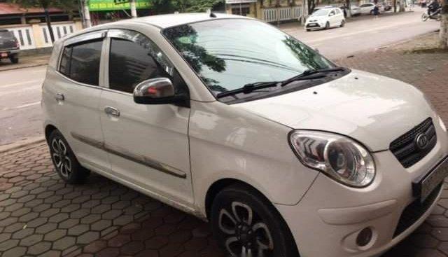 Cần bán xe Kia Morning năm 2010, màu trắng, xe chạy tốt, ít hỏng vặt