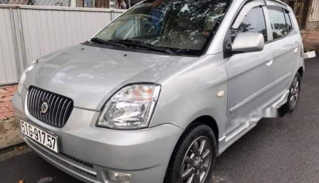 Bán ô tô Kia Morning năm sản xuất 2008, màu bạc đẹp như mới