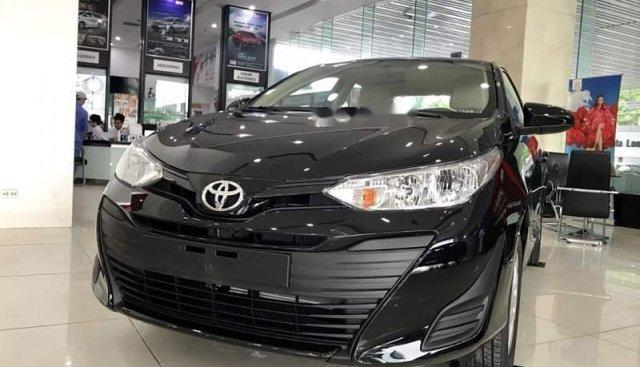 Bán xe Toyota Vios 1.5E 2019, màu đen, mới hoàn toàn