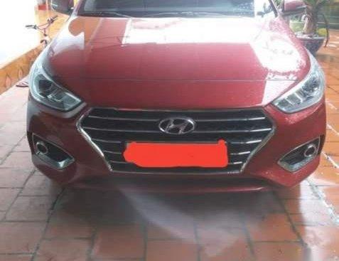 Bán Hyundai Accent năm 2018, màu đỏ như mới, giá cạnh tranh