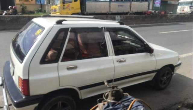 Bán Kia CD5 MT đời 2002, màu trắng, xe mới đăng kiểm 2 ngày