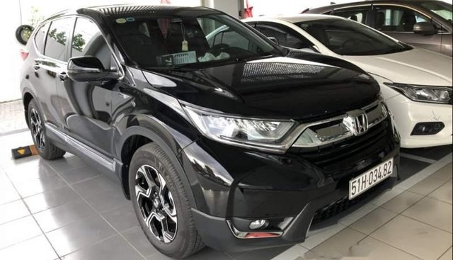 Bán Honda CR V 1.5 Turbo năm sản xuất 2019, màu đen, nhập khẩu