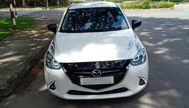 Cần bán Mazda 2 1.5AT 09/2018, màu trắng, xe đi gia đình bán lại 510 triệu