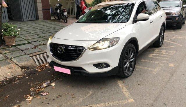 Bán gấp Mazda Cx9 2013, số tự động, bản full, trắng tinh khôi