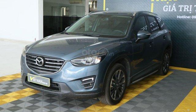 Cần bán xe Mazda CX 5 2.0AT 2WD sản xuất năm 2017, màu xanh lam, 806tr