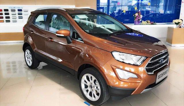 Bán xe Ford EcoSport sản xuất 2019, đủ màu. Giao xe ngay, hỗ trợ trả góp toàn quốc