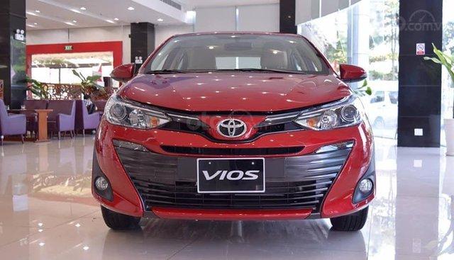 Bán Toyota Vios 1.5G CVT mới tại Hải Dương, bán trả góp 80%, LH - 0936 688 855 Em Hưng