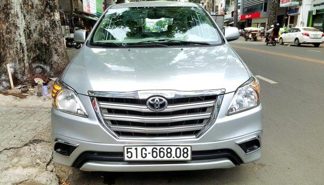 Cần bán xe Toyota Innova năm 2014 số sàn, xe mới 90%. Liên hệ 0917174050 Thanh