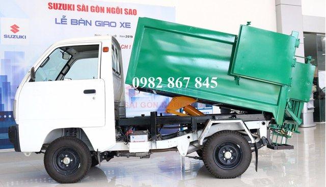 Bán xe ô tô tải nhẹ chở rác giá 249tr, khuyến mãi trước bạ