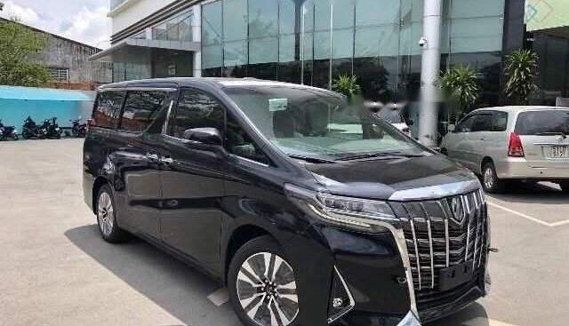 Bán xe Toyota Alphard năm 2019, màu đen, nhập khẩu