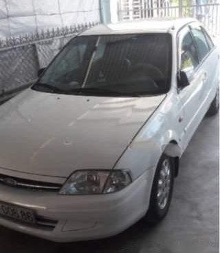 Chính chủ bán xe Ford Laser Deluxe 1.6 MT đời 2001, màu trắng