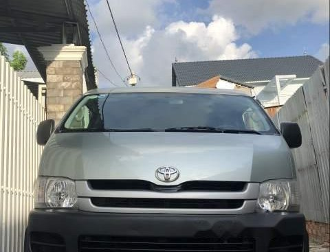 Bán Toyota Hiace sản xuất 2008, màu xanh ngọc, giá 228tr