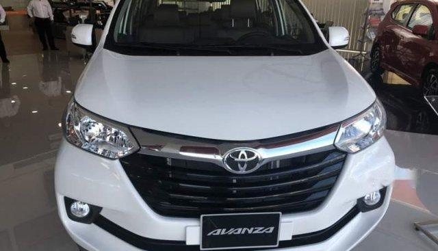 Bán ô tô Toyota Avanza 1.5G AT 2019, màu trắng, nhập khẩu nguyên chiếc, 583 triệu