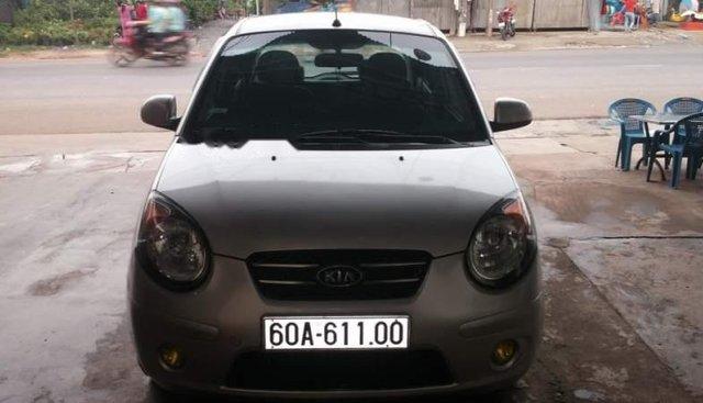 Bán Kia Morning năm sản xuất 2010, màu bạc, xe nhập