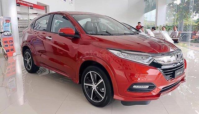 Bán ô tô Honda HR-V L sản xuất năm 2019, màu đỏ, nhập khẩu