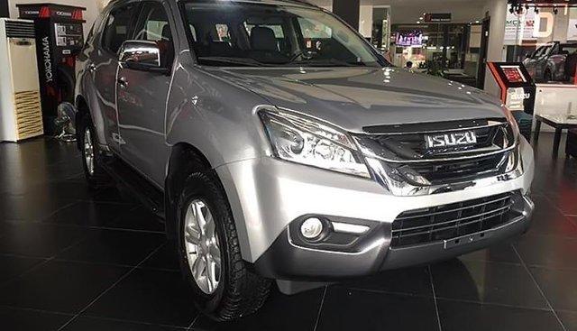 Bán ô tô Isuzu mu-X 3.0 4X2 AT sản xuất năm 2016, màu bạc, nhập khẩu nguyên chiếc, giá tốt
