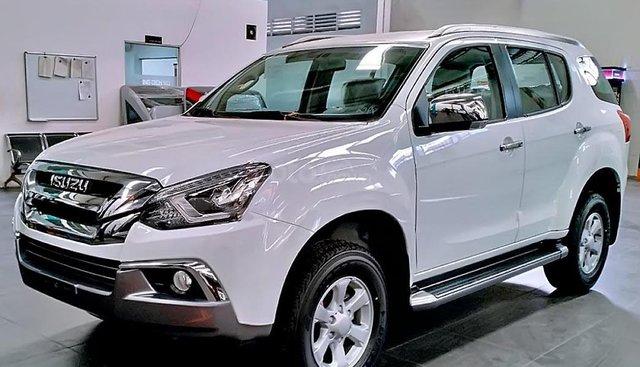 Bán Isuzu mu-X 1.9 4X2 MT sản xuất 2019, màu trắng, nhập khẩu, giá 785tr