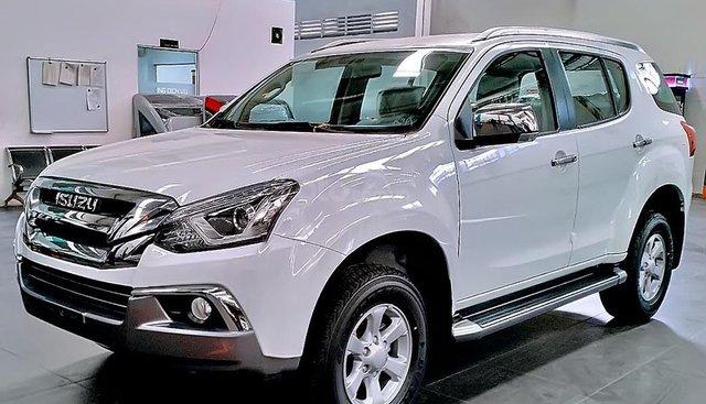 Cần bán Isuzu mu-X 1.9 4X2 MT đời 2019, màu trắng, nhập khẩu nguyên chiếc