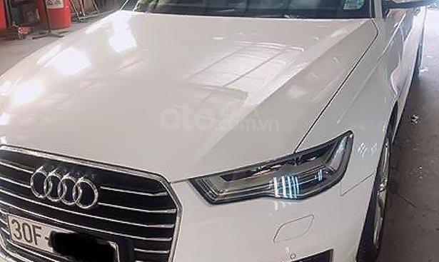 Bán Audi A6 đời 2015, màu trắng, nhập khẩu chính chủ