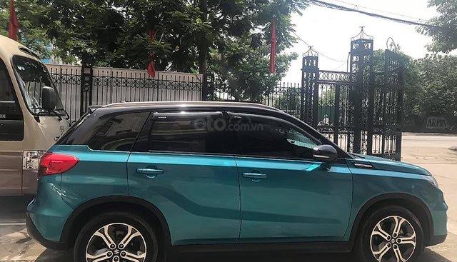 Bán Suzuki Vitara đời 2016, màu xanh lam, nhập khẩu