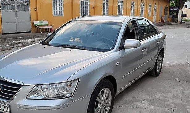 Bán Hyundai Sonata 2009, màu bạc, nhập khẩu, chính chủ