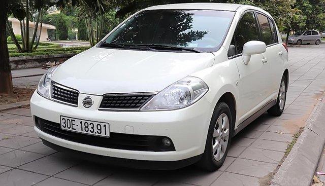Bán Nissan Tiida năm 2007, màu trắng, nhập khẩu
