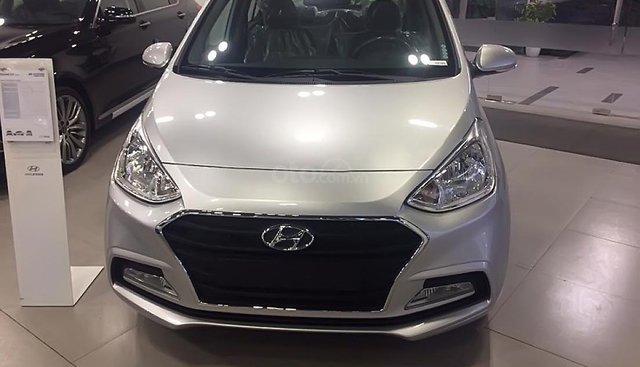 Bán xe Hyundai Grand i10 1.2 MT đời 2019, màu bạc giá cạnh tranh