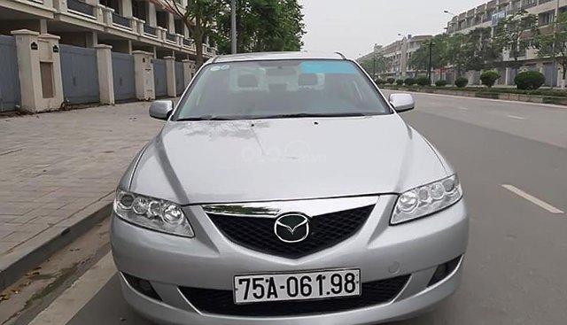 Bán Mazda 6 2.0 MT đời 2003, màu bạc