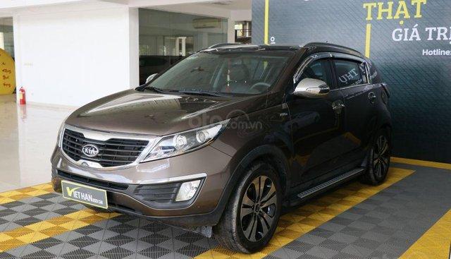Cần bán xe Kia Sportage đời 2011, màu nâu, xe nhập, giá chỉ 566 triệu