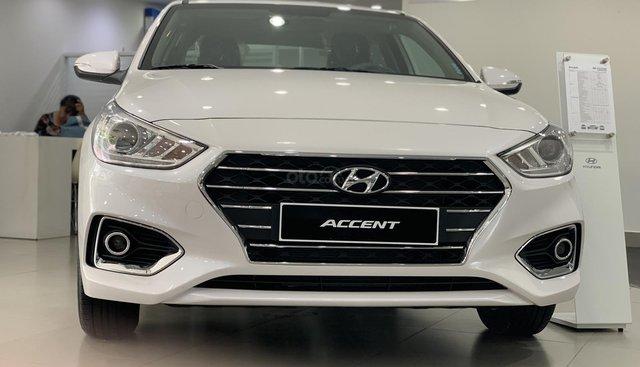 Bán Hyundai Accent MT full trắng nhận xe ngay chỉ với 160tr, hỗ trợ đăng ký Grab, tặng PK cao cấp, LH 0903175312