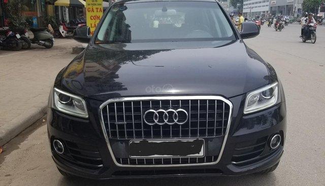 Bán Audi Q5 SX 2014, màu đen, một chủ sử dụng