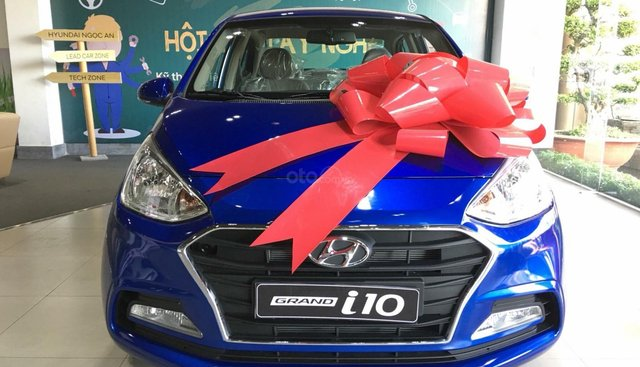 Bán Hyundai Grand i10 AT 1.2, đủ các màu, tặng 10triệu - nhiều ưu đãi - LH Mr Quang: 0907.239.198 - 0949.898.485