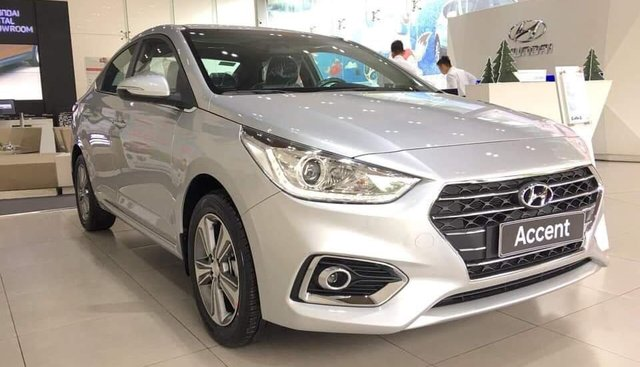 Bán Hyundai Accent 2019, xe hiện đang có sẵn, hỗ trợ đăng ký Grab, tặng bộ phụ kiện cao cấp, LH 0907.239.198