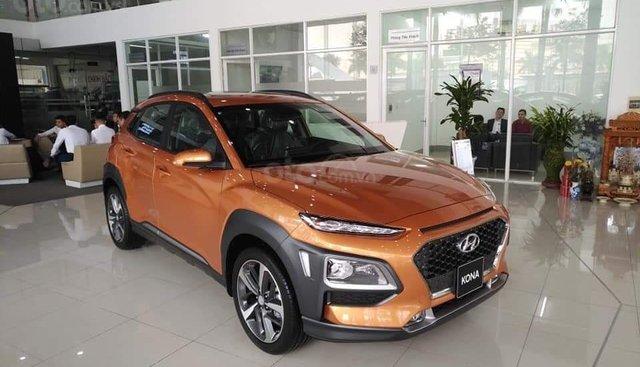 Bán Hyundai Kona Turbo 2019 - sẵn xe đủ màu giao ngay, tặng phụ kiện hấp dẫn, LH Mr Quang: 0907.239.198