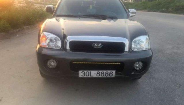 Bán Hyundai Santa Fe năm 2003, màu đen, nhập khẩu
