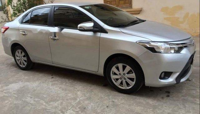 Bán Toyota Vios E năm 2016, màu bạc đẹp như mới