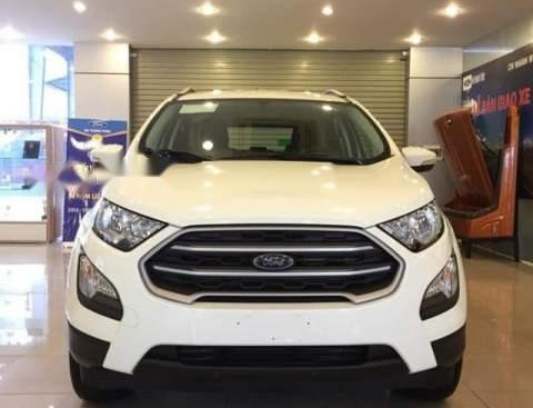 Bán xe Ford EcoSport đời 2019, màu trắng, nhập khẩu