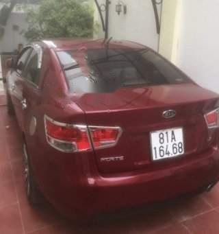 Cần bán xe cũ Kia Forte EX 1.6 MT 2011, màu đỏ