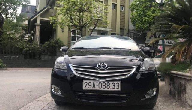 Bán Toyota Vios đời 2011, màu đen, giá tốt