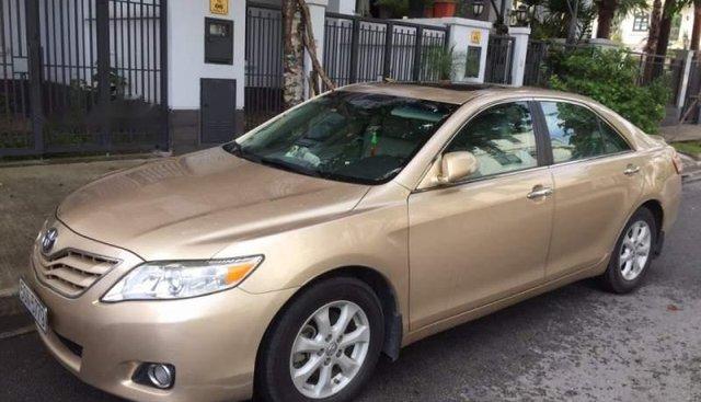 Bán Toyota Camry năm sản xuất 2009, màu vàng