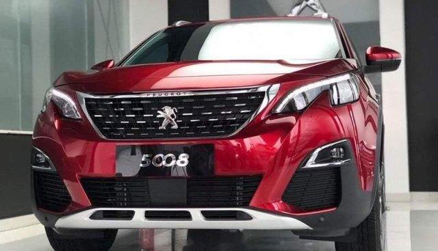 Bán xe Peugeot 5008 năm sản xuất 2019, màu đỏ