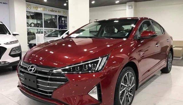 Bán Hyundai Elantra năm 2019, màu đỏ. Hỗ trợ trả góp 85%