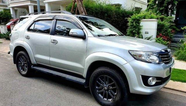 Bán Toyota Fortuner đời 2016, màu bạc, giá 860tr