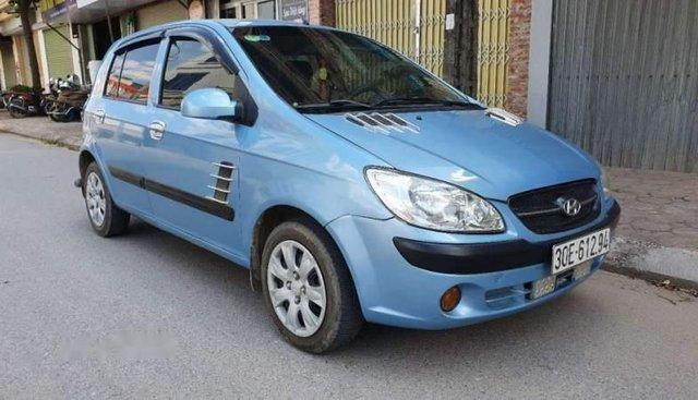 Bán Hyundai Getz 1.1MT đời 2010, màu xanh lam, nhập khẩu