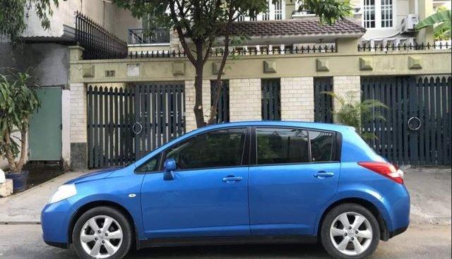 Bán lại xe Nissan Tiida SE năm sản xuất 2008, màu xanh lam, nhập khẩu nguyên chiếc như mới