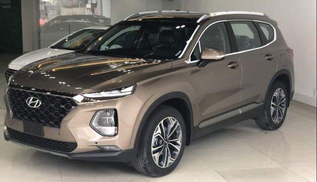 Bán Hyundai Santa Fe Premium 2019, màu nâu