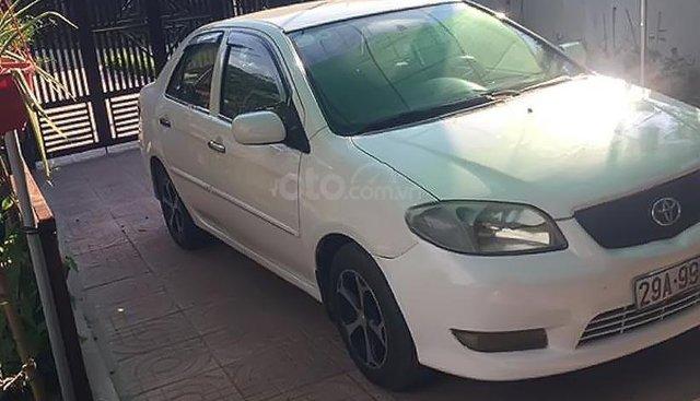 Bán Toyota Vios 1.5MT sản xuất năm 2007, màu trắng, giá 168tr