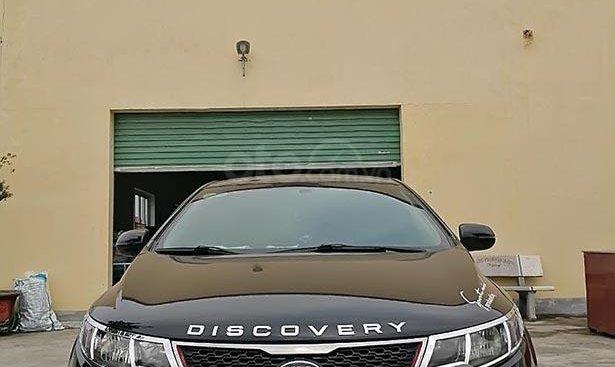 Bán Kia Cerato 1.6 MT 2011, màu đen, nhập khẩu nguyên chiếc
